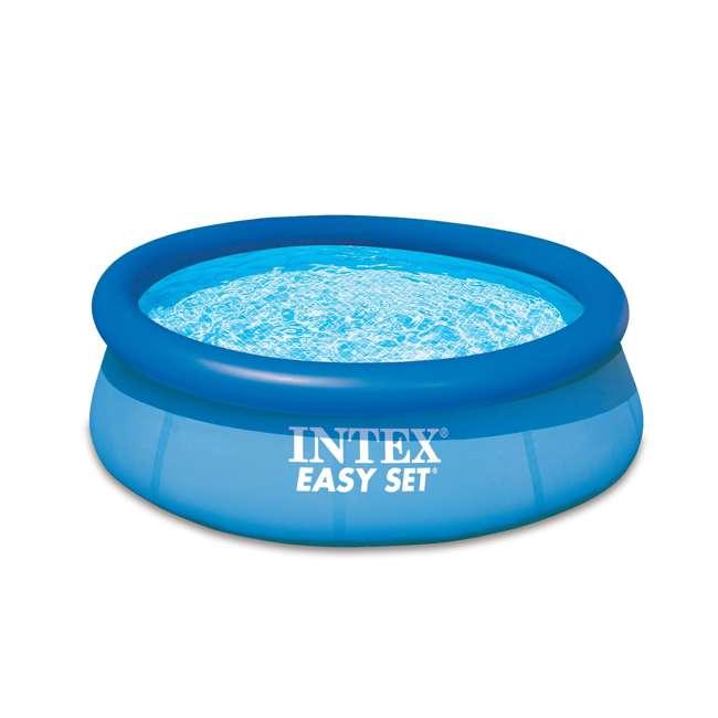 "28110E Intex 8' x 30"" Easy Set Inflatable Above Ground Swimming Pool 28110E  (Open Box)"