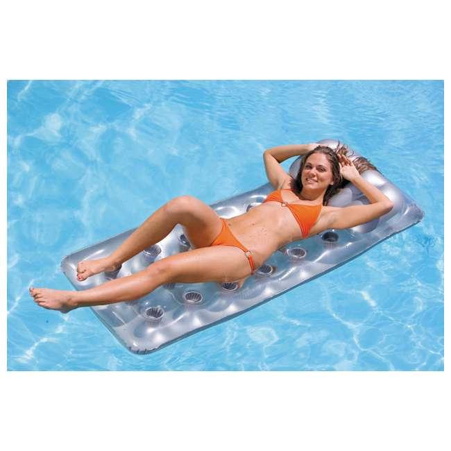 58894EP Intex 18-Pocket Suntanner Lounge (2 Pack) 4