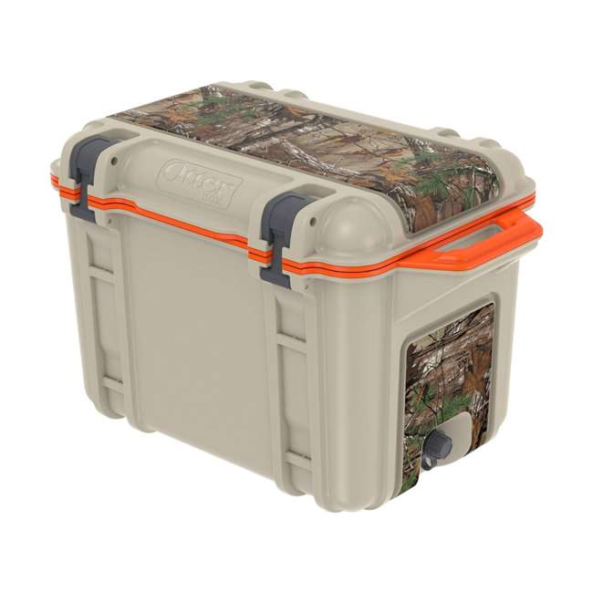77-54464 Otterbox Venture Heavy Duty Outdoor Camping Fishing Cooler 45-Quarts, Back Trail 2