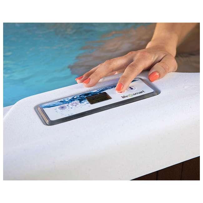 LS400DX Lifesmart Spas 22-Jet 5-Person Hot Tub with Multi Color LED Lights 5
