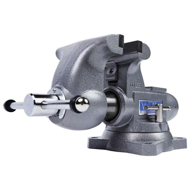 JPW-28807 + WIL-20412 Wilton Swivel Base Bench Vise w/ 4 Pound Sledge Hammer 1