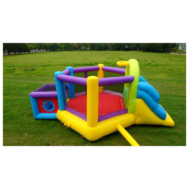 MTI-90947 Magic Time Fort N' Sport Bouncer 4