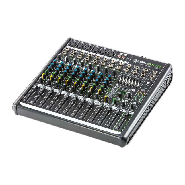 ProFX12v2-OB Mackie ProFX12v2 Focused Live Sound 12 Channel Effects Mixer with 6 Preamps