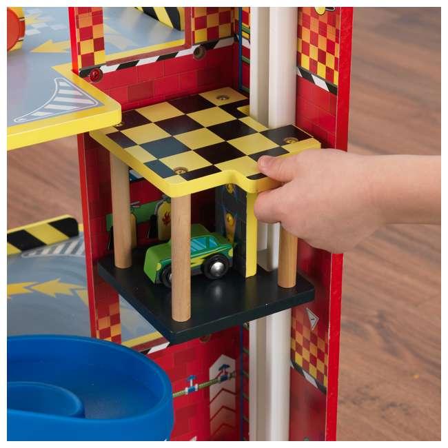 63267-U-A KidKraft Kids Mega Ramp Racing Set for Matchbox and Hotwheels Cars (Open Box) 4