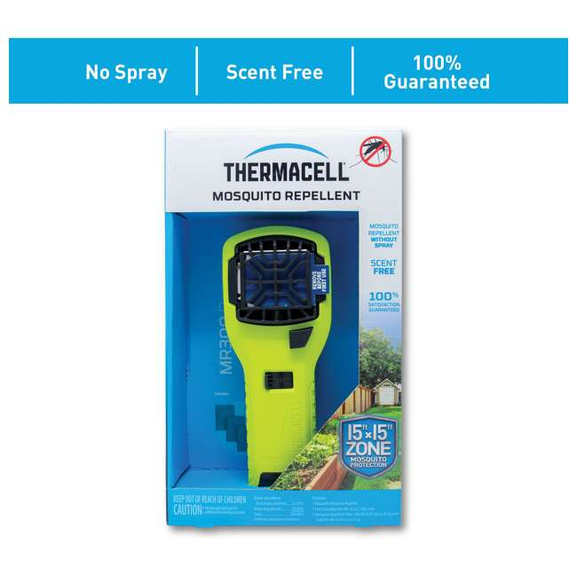 MR300V Thermacell MR300V Mosquito Repellent & Refill with 12 Mats & 4 Fuel Cartridges 2