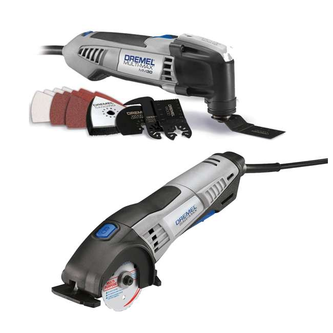 MM30-DR-RT-RB + SM20-DR-RT-RB Dremel Multi-Max Kit & Circular Saw (Certified Refurbished)