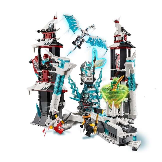 6250938 LEGO Ninjago Castle of the Forsaken Emperors 1218 Piece Kit with 7 Minifigures 5