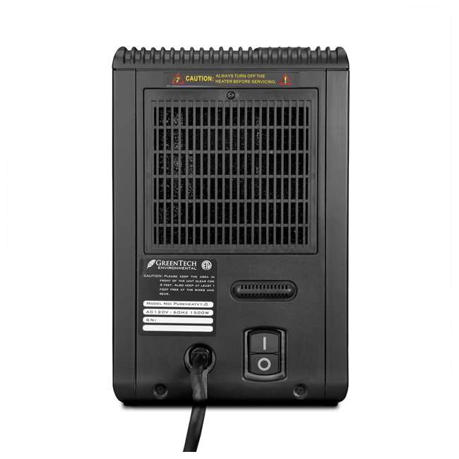 PH2IN1V01US Pureheat 2-in-1 Heater and Air Purifier with Digital Display and Remote Control 3