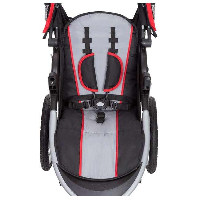JG75B47A Baby Trend Cityscape Infant Safe Lightweight Sporty Jogger Stroller, Jolt Red 2