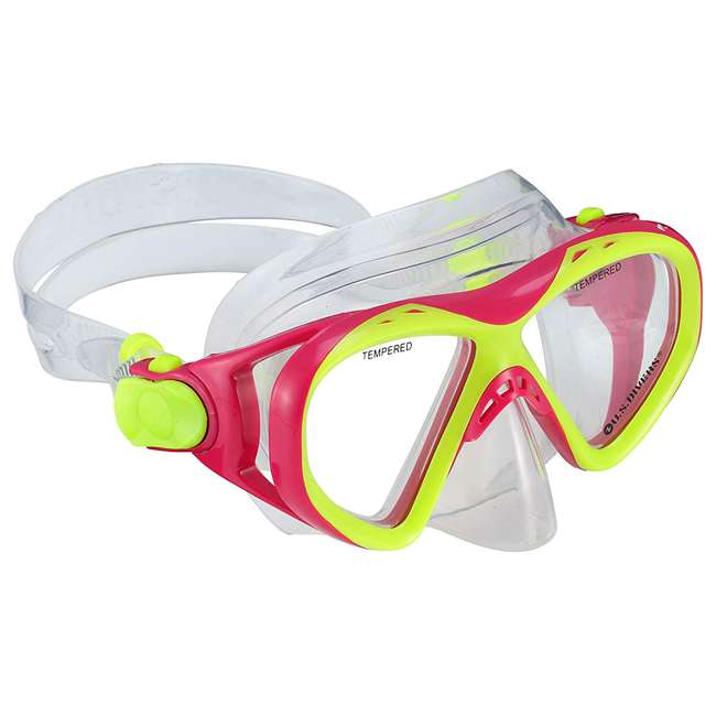281104 U.S. Divers Youth Kids Buzz Junior Snorkeling Set with Mask, Fins and Snorkel 1