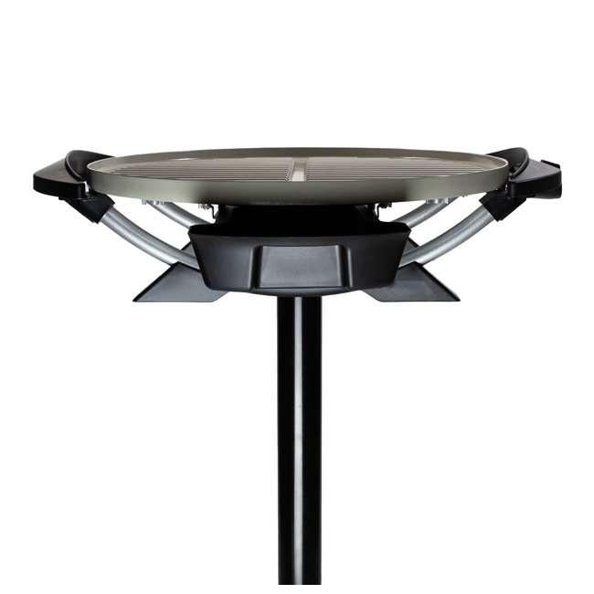 GF03320XSGM-U-A George Foreman Domed Electric Grill w/ Ceramic Plates, Gun Metal (Open Box) 10