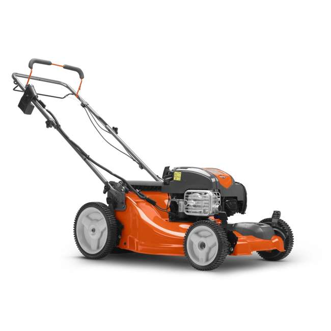 HV-WB-961480062 + HV-TOY-589289601 Husqvarna Walk Behind Mower Electric Start Gas Powered Toy Lawn Mower for Kids 2