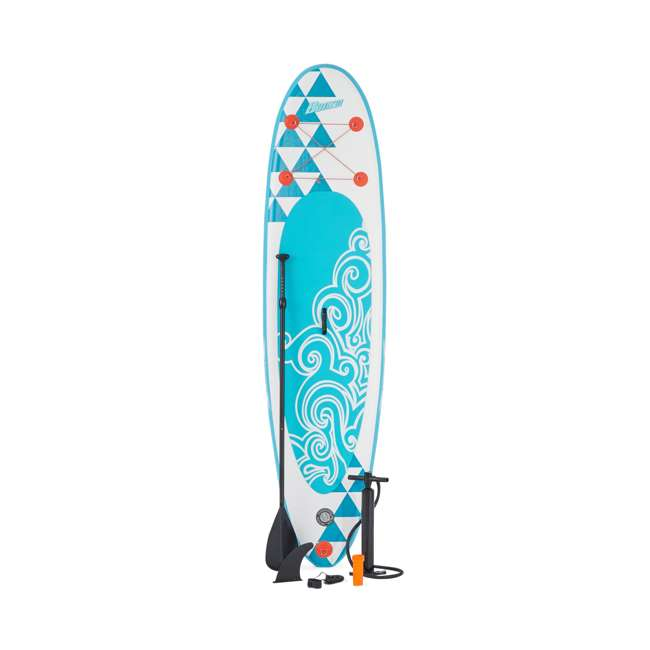 85739 Banzai 10' Inflatable SUP Stand Up Paddle Board Adjustable Paddle & Backpack 2