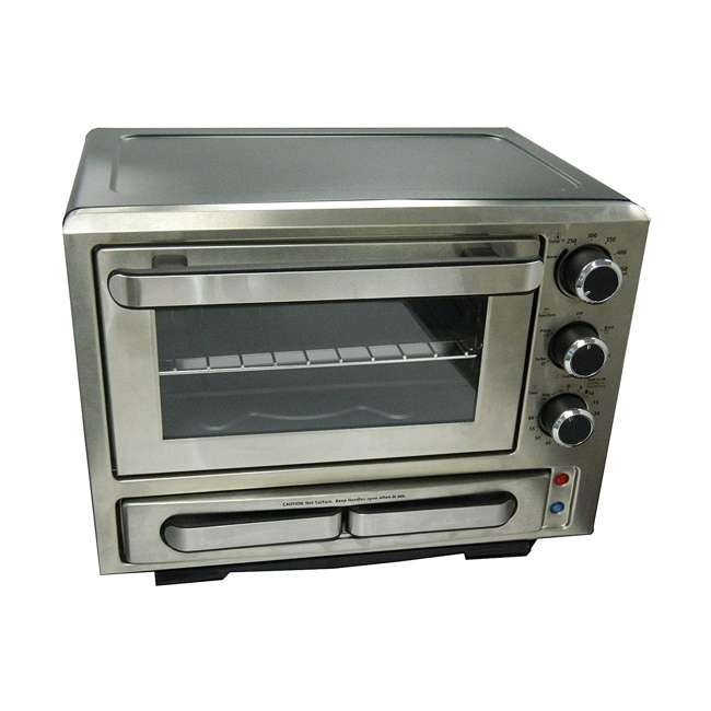 PPO84X3S-IS Avanti 1000-Watt Stainless Steel Pizza Toaster Oven 4
