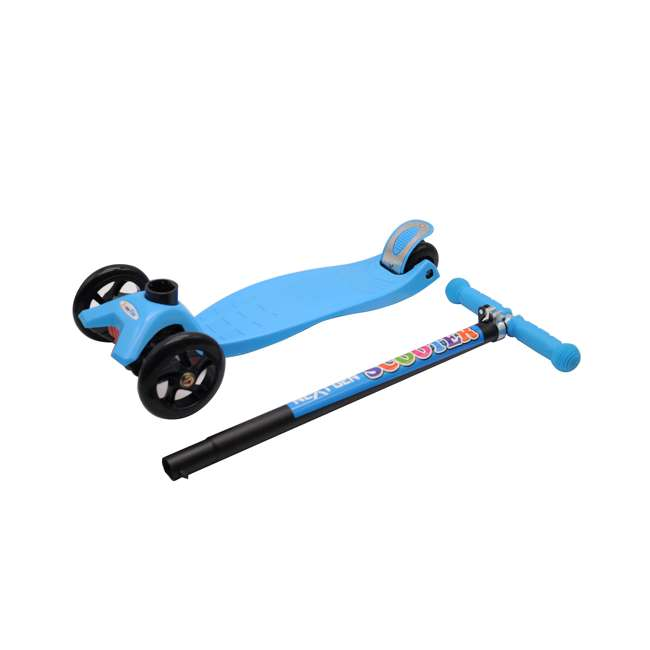 101-NXT-U-A NextGen Scooters 3 Wheeled Beginners Kids Ride On Kick Scooter, Blue (Open Box) 3
