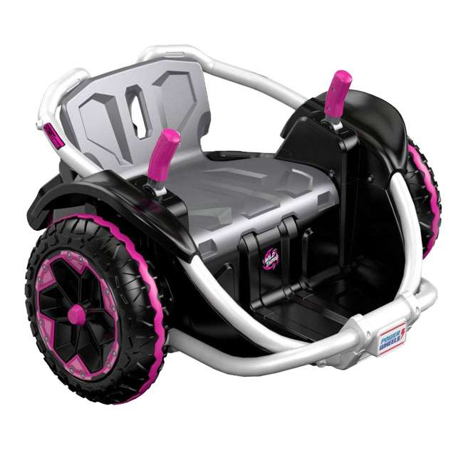 FNK90 Power Wheels Wild Thing 12V Kids Ride-On Vehicle, Pink 3
