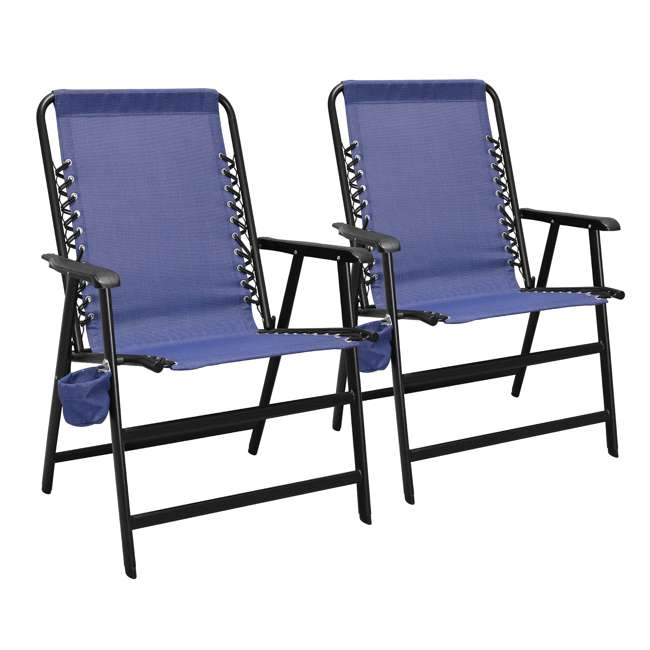 CVANXFC01022-2PK Caravan Canopy Infinity Suspension Chair w/ Cupholder (2 Pack)