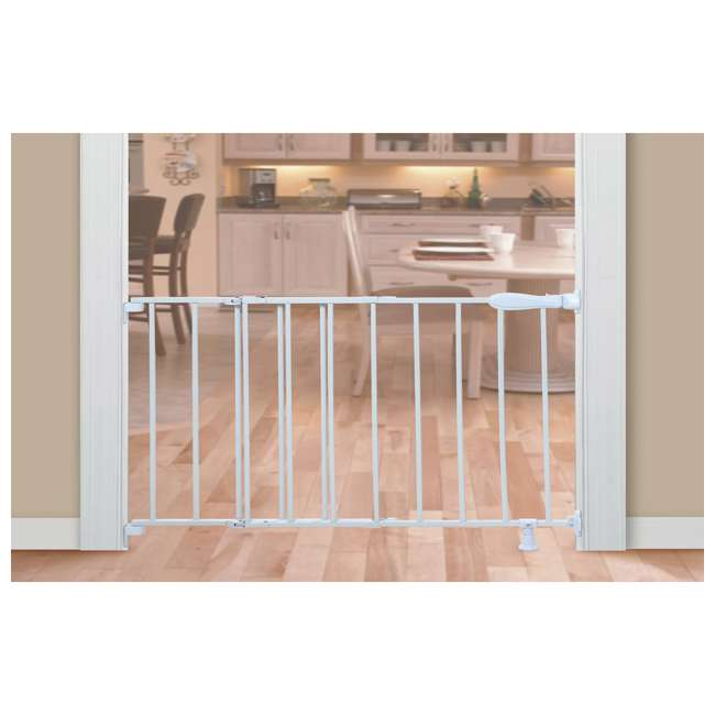 27210B Summer Infant Top of Stairs Simple to Secure Adjustable 42 Inch Metal Baby Gate 1