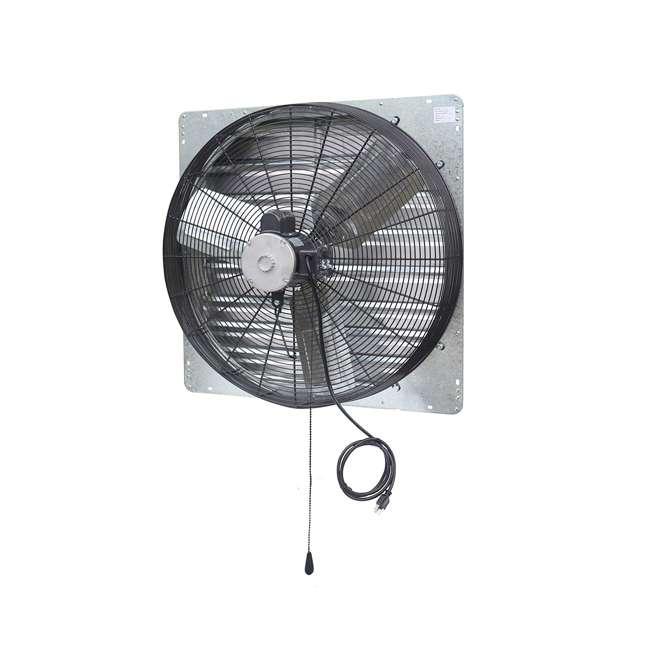 ILG8SF30V-T iLiving ILG8SF30V-T 2 Speed 30 Inch Exhaust Attic Garage Grow Fan w/ Thermostat 3
