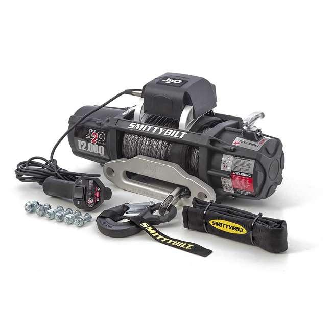 98512-SMITTYBILT Smittybilt X2O Gen2 12,000-Pound Wireless Waterproof Winch