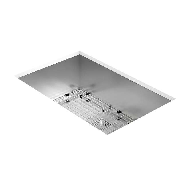 KHU29 Kraus Pax 28-Inch Rectangular Undermount Stainless Steel Kitchen Sink (2 Pack) 2