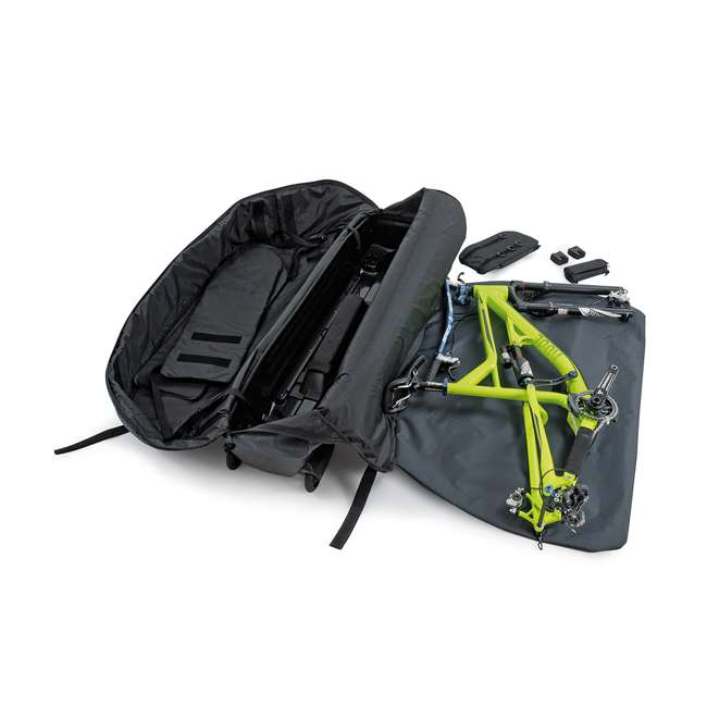 96900 B&W International Padded Lightweight Zippered Bike Bag and Case II, Black 3