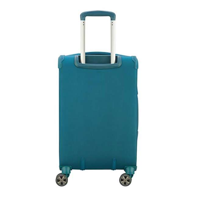 40229194732 DELSEY Paris 4 Sized Reliable Hyperglide Softside Travel Luggage Bag Set, Teal 6