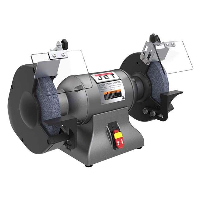 JET-578008-U-C Jet 8 Inch Stationary Workshop Durable Industrial Bench Grinder, Gray(For Parts)