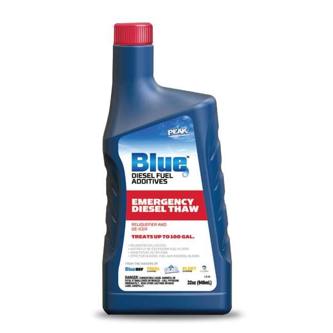 DEF002 BlueDEF Diesel Urea & Deionized Water 2.5 Gal JugPEAK Fuel Additive, 32 Ounces 4