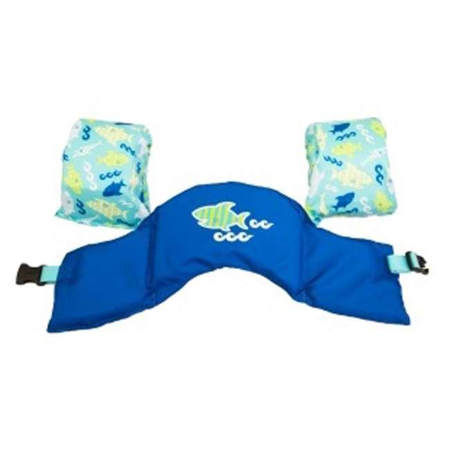 6044358-SW SwimWays Sea Squirts Kids Swimming Life Jacket, Shark 1