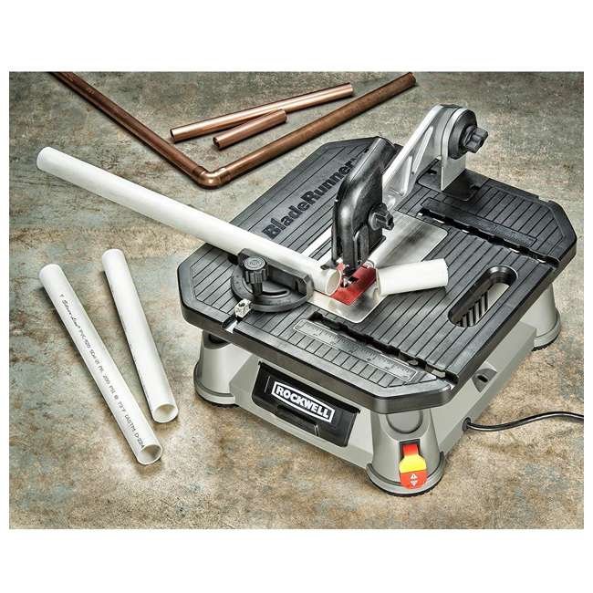 RK7323-U-A Rockwell Bladerunner Tabletop Table Saw Scroll, Rip, and Miter Tool (Open Box) 4
