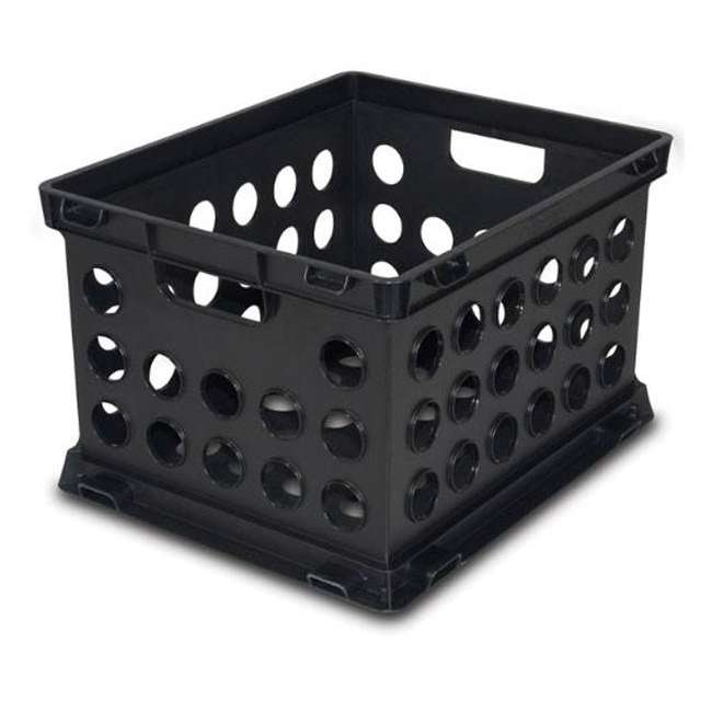 6 x 16939006-U-A Sterilite Plastic Heavy Duty Stacking Storage Containers (Open Box)(6 Pack)