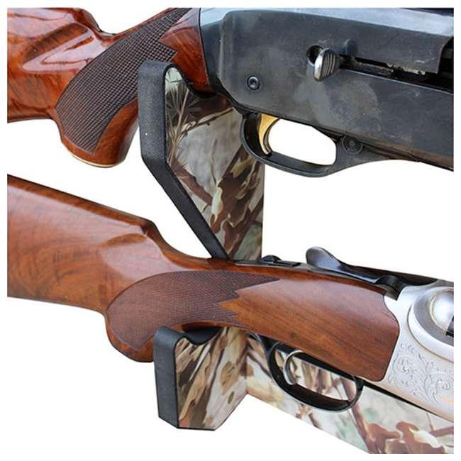 38-4042 Rush Creek Creations 38-4042 Camouflage Laminate 3 Gun Mounted Display Wall Rack 3