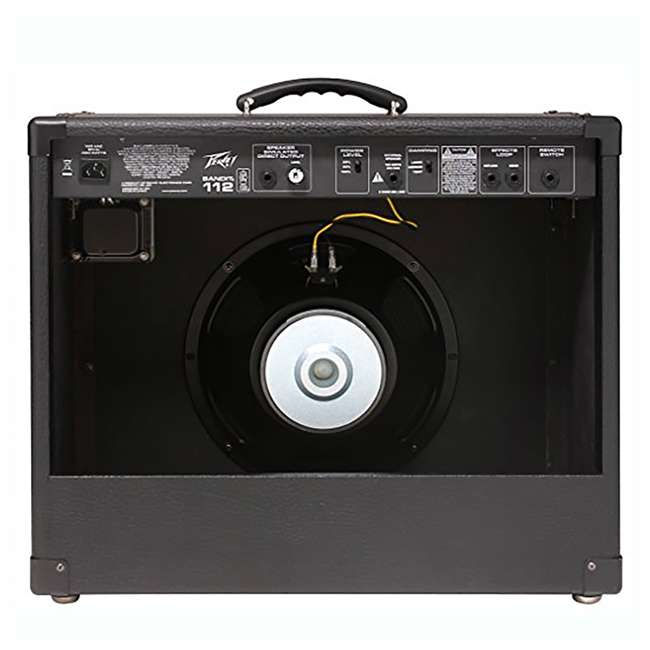 BANDIT-112 + LED-FOOTSWITCH + PV-10IC Peavey Bandit 112 12-Inch TransTube Amplifier + Footswitch + 10' DMX Cable 2