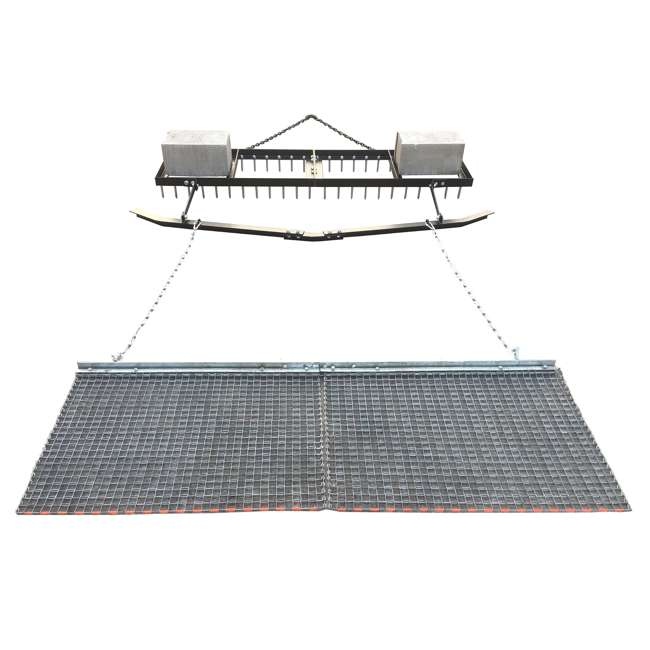 YARD-YTF-618SDLBDM-U-C Yard Tuff 6' Spike Drag, Surface Leveling Bar, Drag Mat for ATV/UTVs (For Parts) 2
