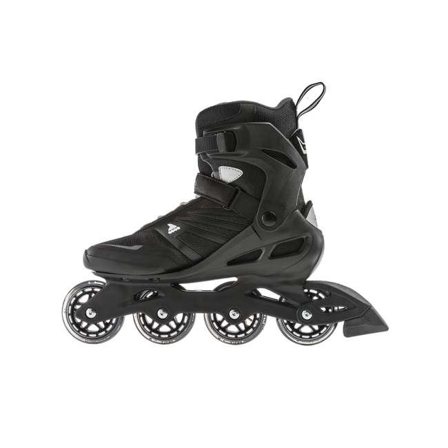 7958600816-9 Rollerblade Zetrablade Adult Mens Beginner Fitness Inline Skates, Size 9, Black 4