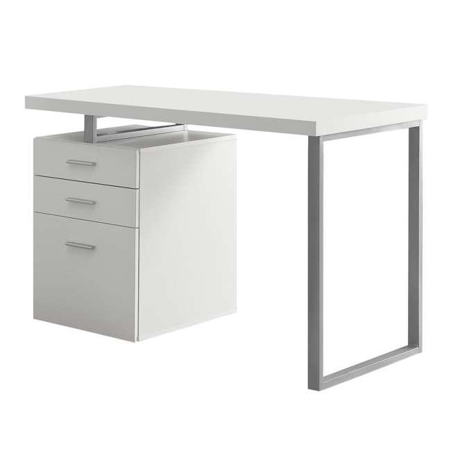 "VM-7027-U-C Monarch Specialties 48"" Contemporary Reversible Set Up Computer Desk (For Parts)"