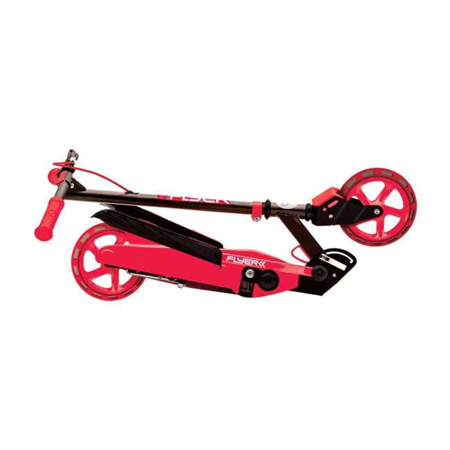 YFLYER-100739-U-A Yvolution Y Flyer Kids Childrens Youth Stepper Scooter, Ages 7+, Red (Open Box) 1