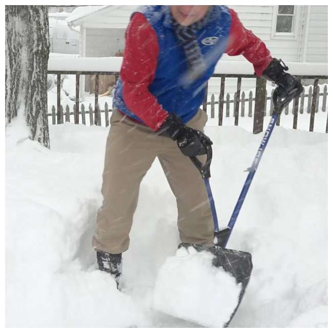 SNJ-SJ-SHLV01 Snow Joe Snow Shovel with Spring Assisted Handle 3
