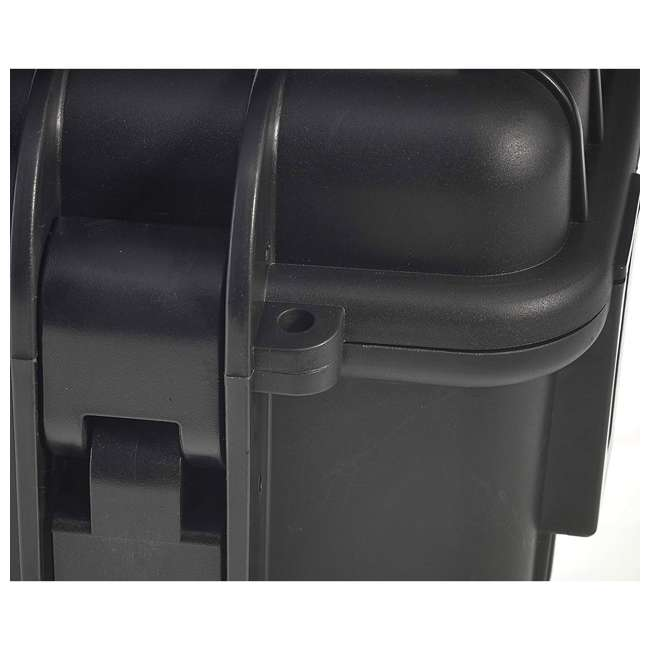 6700/B B&W International 6700/B 42.8 L Plastic Outdoor Case with Wheels & Handle, Black 2