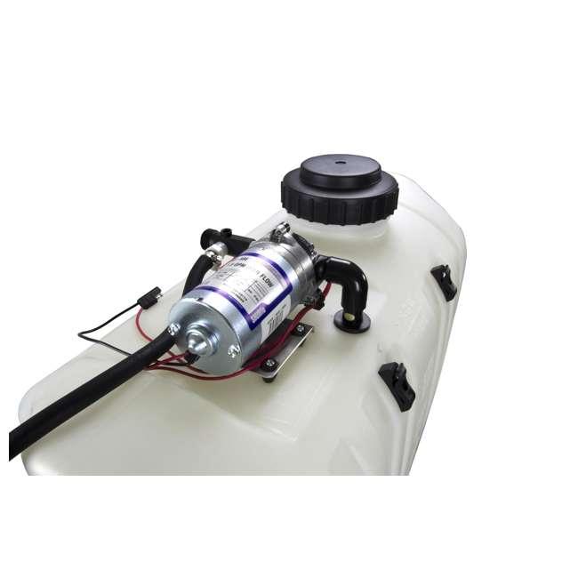 MOULTRIE ATV Sprayer - MFH-SPR25B 12v Lawn Farm 25 Gallon Boomless Spot  Sprayer w/ 12' Hose