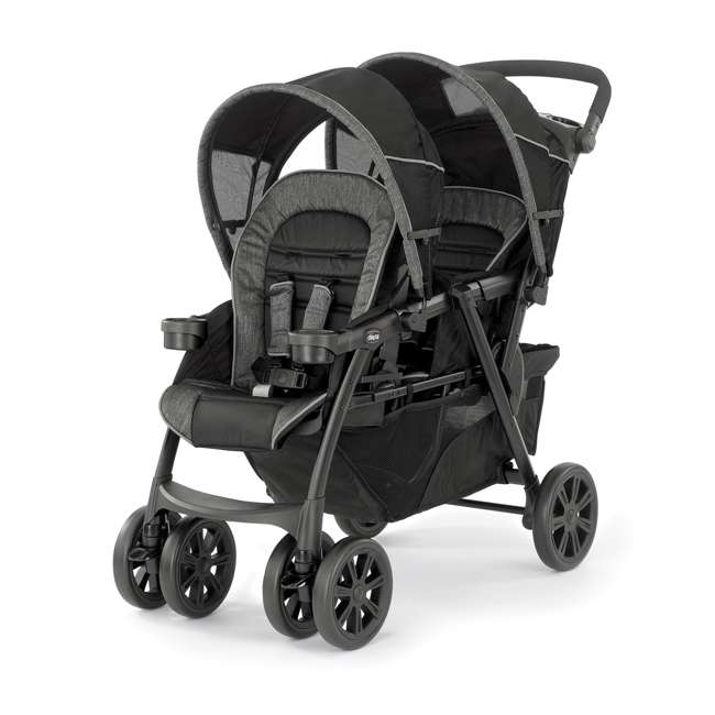 CHI-0807904302 Chicco Cortina Together Double Stroller, Minerale
