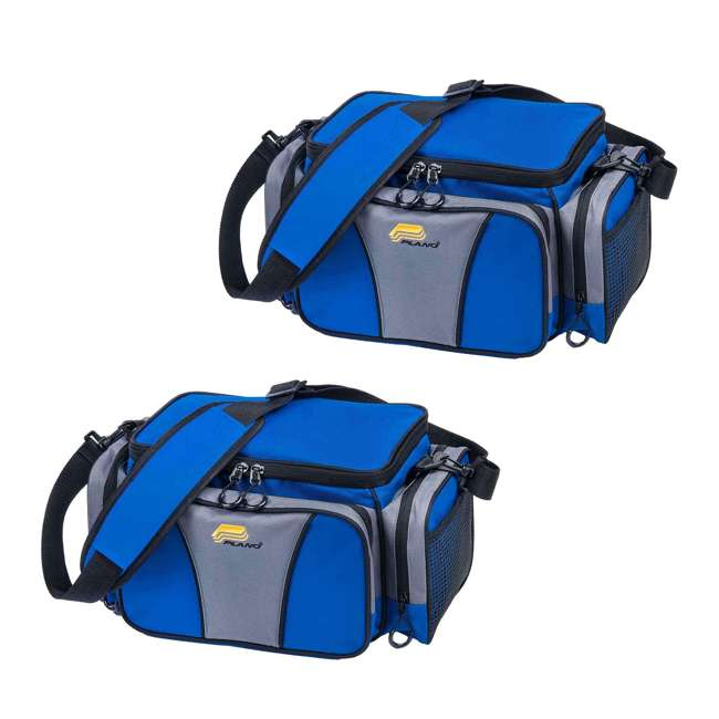 PLANO-443620 Plano Weekend Series 3600 Fishing Tackle Case (2 Pack)
