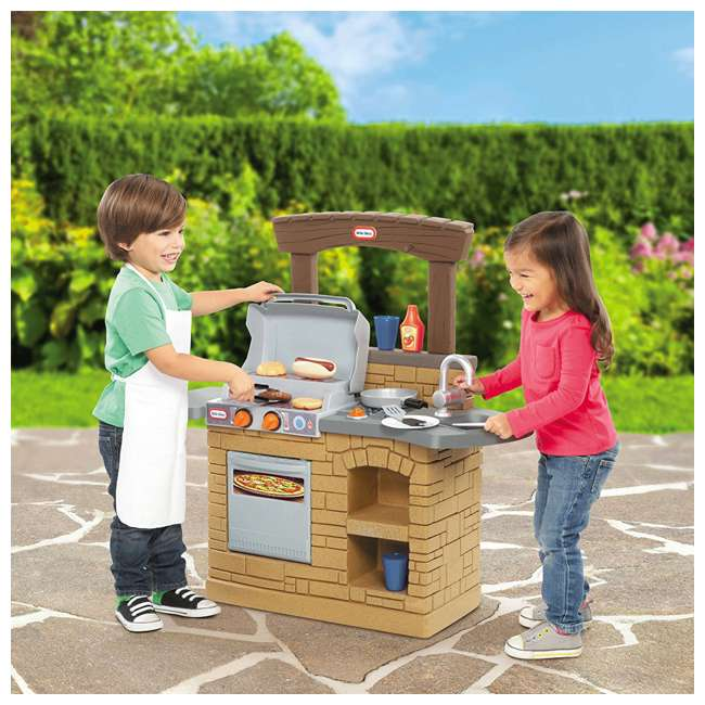 633911M Little Tikes Cook 'n Play BBQ Grill Set 2