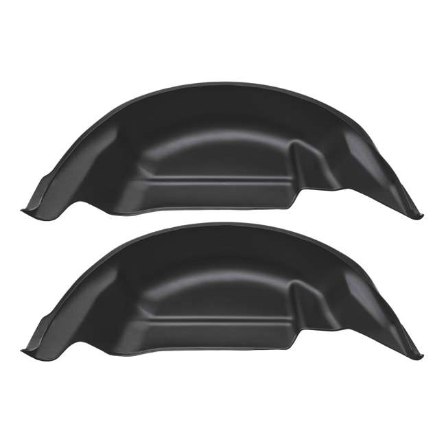 HUSKY-79121-O-B Husky Liners 2015-2019 Ford F150 Truck Rear Wheel Well Guards 4