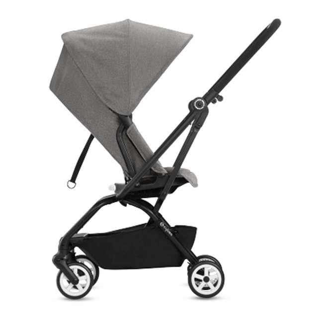 518001265 + 515103015 Cybex Eezy S Twist Stroller, Manhattan Grey & Aton 2  Car Seat 4