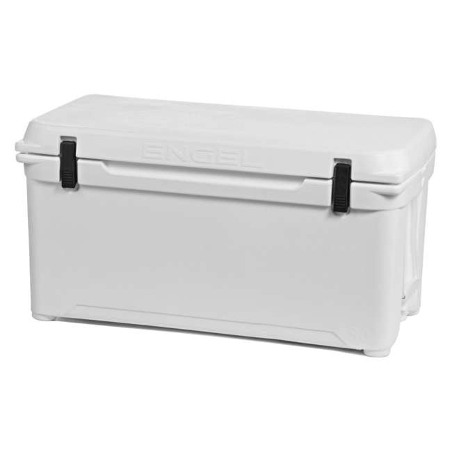 ENG80-OB Engel 80 High-Performance Roto-Molded Cooler, White (Open Box)