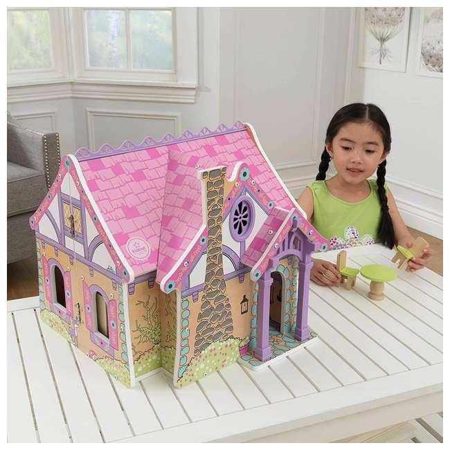 KDK-65930 KidKraft Enchanted Forest Wooden Dollhouse 7