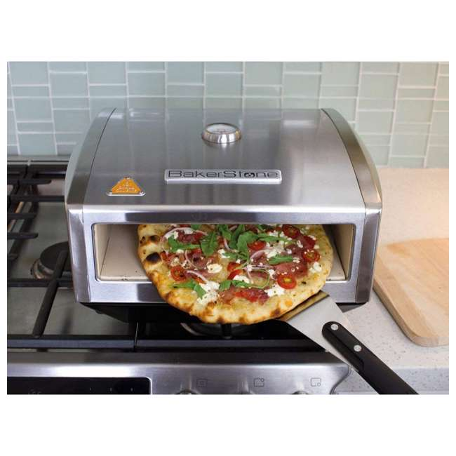 OS-ABDXX-O-SSS-U-A BakerStone Gas Stove Top Pizza Cooking Oven Box w/ Peel & Turner (Open Box) 3