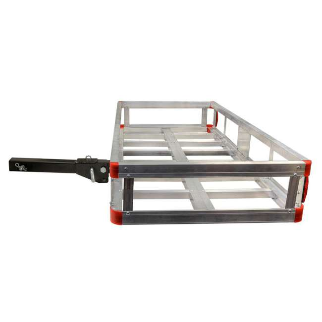 HCC502A Detail K2 HCC502A 500 Pound Trailer Hitch Mounted Aluminum Cargo Carrier Rack 2